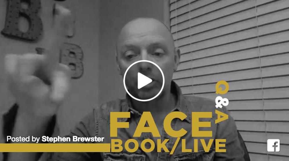 Facebook Live Q&A!