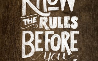 If you are tired or feel stuck these simple rules will get you back on track!