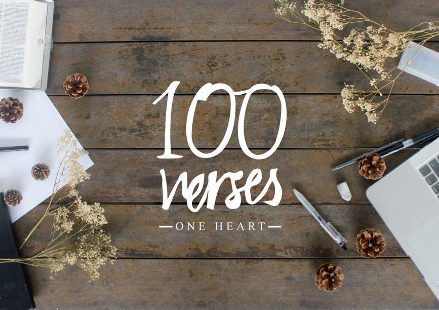 100 Verses One Heart.