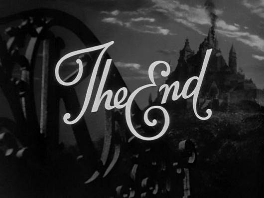 How Do You End?