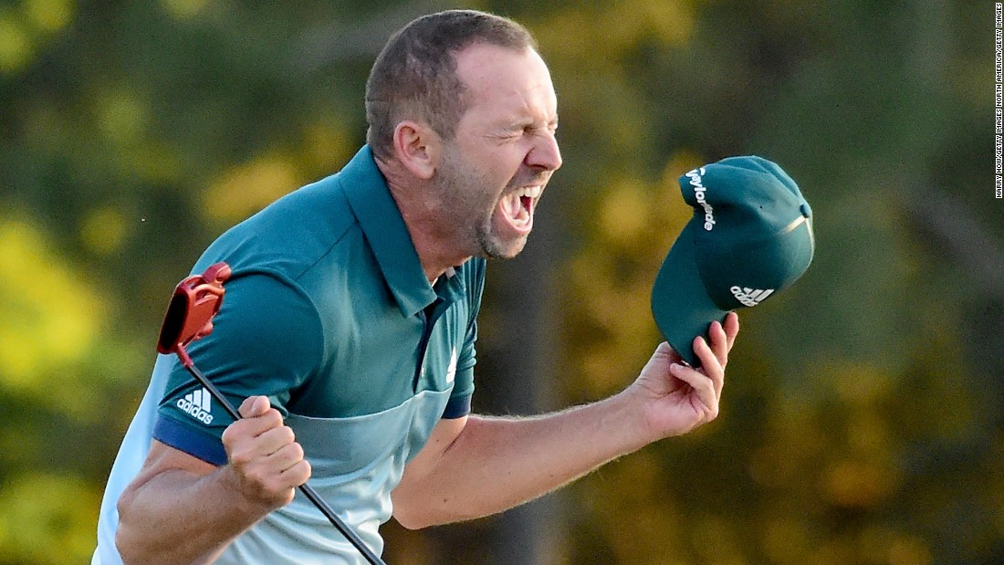 Sometimes You Have To Grind! What You Can Learn From Sergio Garcia.